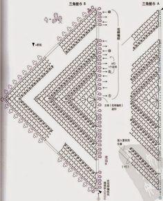 Häkelmuster Fundgrube: Schultertuch