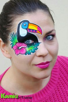 Exotic face painting