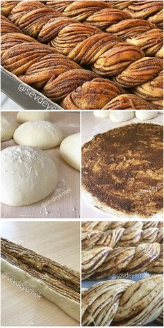 Sweet Pastries, Bread And Pastries, Fall Recipes, New Recipes, Bread Board, Pie Dessert, Pastry Recipes, Turkish Recipes, Bread Baking