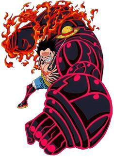 Luffy Gear 4 (Render) One Piece by One Piece 1, One Piece Luffy, One Piece Anime, Anime Manga, Anime Guys, Otaku Anime, Arte Viking, Luffy Gear 4, Mugiwara No Luffy