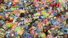 sticker bomb images for backgrounds desktop free (Dewey Cook 1920x1080)