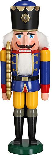 Nutcracker King blue - 38 cm / 15 inch