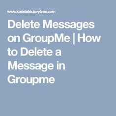 how to delete your groupme account