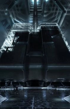 2008 | TRON Legacy | Concept Art by David Levy | Source  Another TRON Legacy Stuff at Gashetka