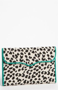 Rebecca Minkoff Leopard Print Passport Wallet available at Nordstrom
