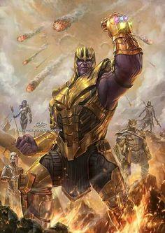 avengers Infinity war fan art