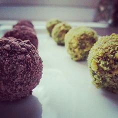 Chocolate orange, Pistachios and Truffles on Pinterest