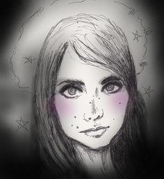 Sketchy #807: Deborah Acosta by Electric Harlot