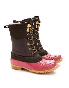 CARRICK Womens Muck Boot - oh yeah, these puppies were made for me... Thanks friend!!!