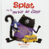 Splat and the Cool School Trip - (Splat the Cat) by Rob Scotton (Hardcover) Splat Le Chat, Album Jeunesse, Too Cool For School, New Adventures, Zoo Animals, Bestselling Author, Elephant, Hilarious, Cool Stuff