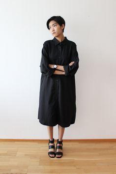 Outfit via Tsingeli blog ft. AÃRK Collective /  Classic Black Tie watch