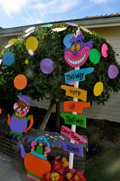 Resultado de imagen para alice in wonderland party theme ideas