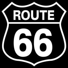 Route 66 logo Vinyl Sticker Decal for Car Bumper Helmet Skateboard Locker Osarix #AveryDennisonVinyl