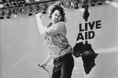 Bob Geldof The Boomtown Rats, Bob Geldof, Live Aid, Irish Singers, Classic Rock, Pop Music, Music Is Life, Rock N Roll, The Dreamers