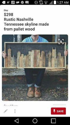 Could do Cincy skyline - Hiscraft.com - Cincinnati based craft and wood working business