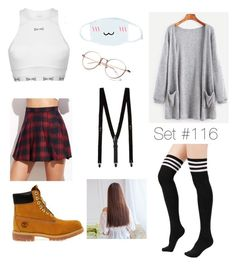 """If I Were In a Kpop Group(desc)"" by emma-natalie ❤ liked on Polyvore featuring Timberland, USA Pro and Topman"