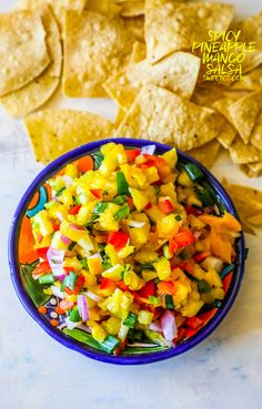 Spicy Pineapple Mango Salsa – Whole Foods Knockoff