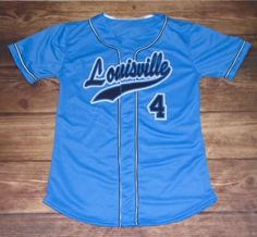 Check out this custom jersey designed by Louisville Leopards Baseball and created at Beatty's Sports in Hartville, OH! http://www.garbathletics.com/blog/leopards-baseball-custom-jersey/ Create your own custom uniforms at www.garbathletics.com!