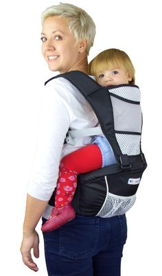 The much awaited black baby carrier with longer straps - http://www.amazon.com/dp/B014SW1N10