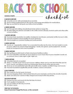 15 Back to School Organization Ideas!! -- Tatertots and Jello