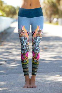 Om Shanti Clothing Company, so pretty // India Ganesha Hindu God #fitness #yoga