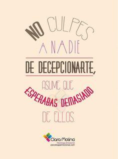 PARA REFLEXIONAR... (((Sesiones y Cursos Online www.ciaramolina.com #psicologia #emociones #salud)))