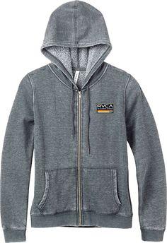 RVCA Women's Mechanics Zip Hoodie #CoolStuff #BestPrice: $59.00 Grab NOW! @bestbuy9432