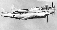 First flight of the Lockheed XP-58 Chain Lightning heavy fighter 1/6 1940.