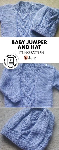 5546857773c4 42 Best Knitting Patterns For Babies images in 2019