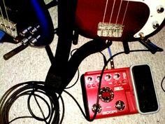 Keri's Zoom B2.1u Bass Pedal setup
