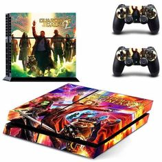 Guardians of the Galaxy Vol. 2 Vinyl Decal - PS4 & Controllers