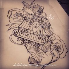 birdcage tattoo meaning - Google Search