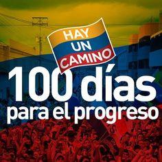 Faltan 100 días para el progreso de todos los venezolanos