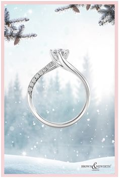 Lovingly made in UK workshops with ethically sourced diamonds, each ring comes with a lifetime guarantee, a year's free insurance, complimentary engraving and free refinishes. Available to try on from home for free! #whitediamonds #engagement #engagementring #dreamring #ringgoals #proposal #howheasked #christmasproposal #engaged #imengaged