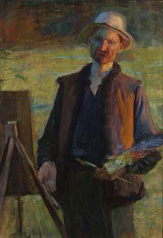 Leon Wyczółkowski, Autoportret