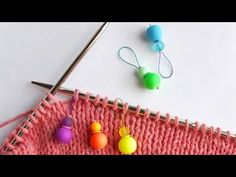 How To Make Beaded Stitch Markers for Knitting - DIY Crafts Tutorial - Guidecentral