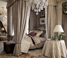 Remarkable Romantic Canopy Bed Ideas Best Idea Home Design Beautiful Canopy Bed - Linds Interior Dream Bedroom, Home Bedroom, Bedroom Decor, Master Bedroom, Bedroom Ideas, Bedroom Designs, Master Suite, Pretty Bedroom, Fancy Bedroom