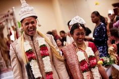Planned their East Coast wedding from the West Coast. Multicultural Bengali Indian Hindu and Christian wedding ceremonies. www.shaadishop.co
