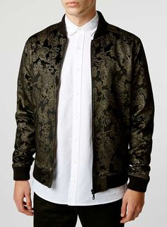 Noose And Monkey Black Bomber Jacket
