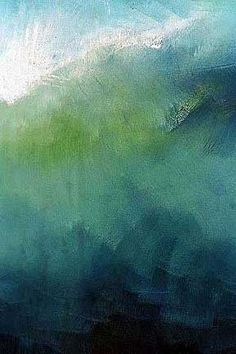 Anne Stahl, Green + Blue Color Combination//