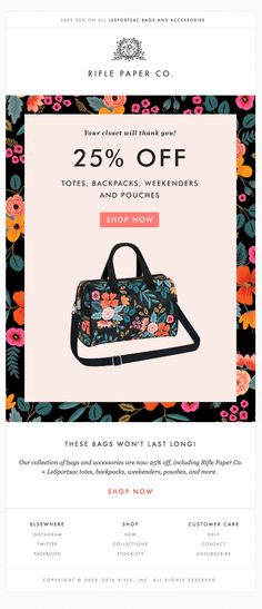 Best Ecommerce Images On Pinterest - Best ecommerce email templates