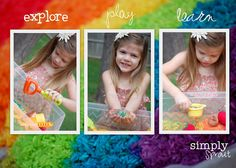 Spring Sensory Fun ~ Simply Sprout