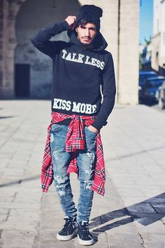 TALK LESS KISS MORE (by Mohcine Aoki) http://lookbook.nu/look/4442485-TALK-LESS-KISS-MORE