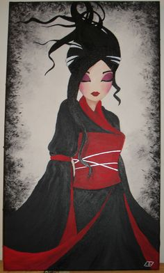 Misstigri Art Geisha, Art Occidental, Art Mignon, Art Chinois, Art Asiatique, Japan Tattoo, Art Japonais, Cartoon Sketches, Art Et Illustration