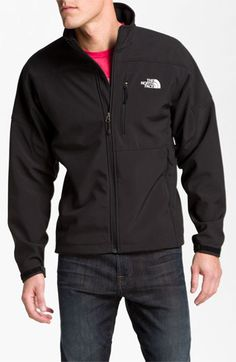 totally snagged one of these for j! #NSale #hecanthankmelater The North Face 'Apex Bionic' Softshell Jacket | Nordstrom