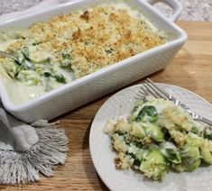Brussels Sprouts Gratin with Spinach and Leeks recipe on Old Cut Kitchen using fresh local ingredients from Norfolk County, Ontario's Garden Vegan Vegetable Soup, Vegetable Side Dishes, Vegetable Recipes, Spinach Gratin, Sauteed Spinach, Leek Recipes, Sprout Recipes, Creamy Sauce, Macaroni And Cheese