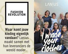 #FashionRevolution #Lanius