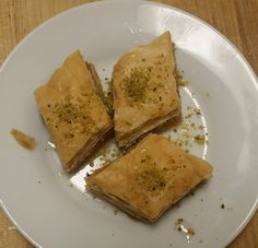 baklava Spanakopita, Restaurant, Ethnic Recipes, Food, Eten, Restaurants, Meals, Dining Room, Diet