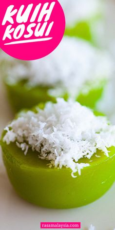 Rice Cake Flavors, Rasa Malaysia, Rice Cakes, Dessert Recipes, Desserts, Eating Well, Quick Easy Meals, Juice, Coconut