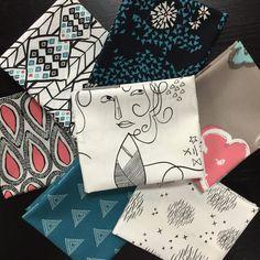 Art Gallery Fabric Bundle - Etno by Pat Bravo - 7 FQ - Modern Fat Quarters